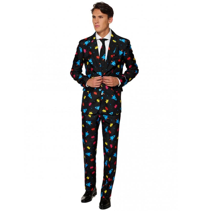 traje videogame suitmeister para hombre