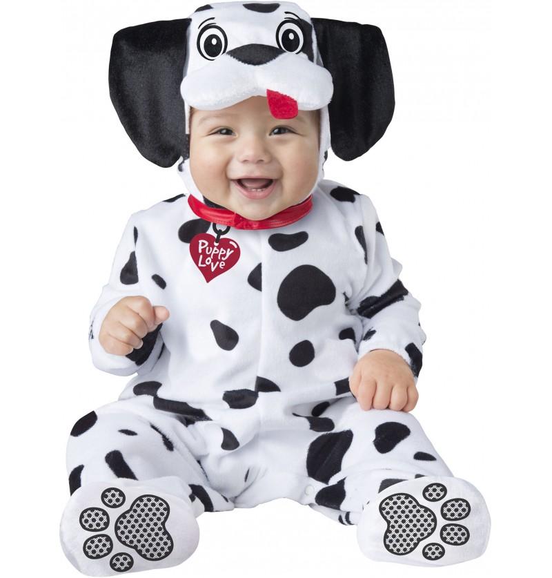 Disfraz de dálmata adorable para bebé