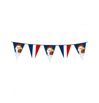 banderines gallo francs