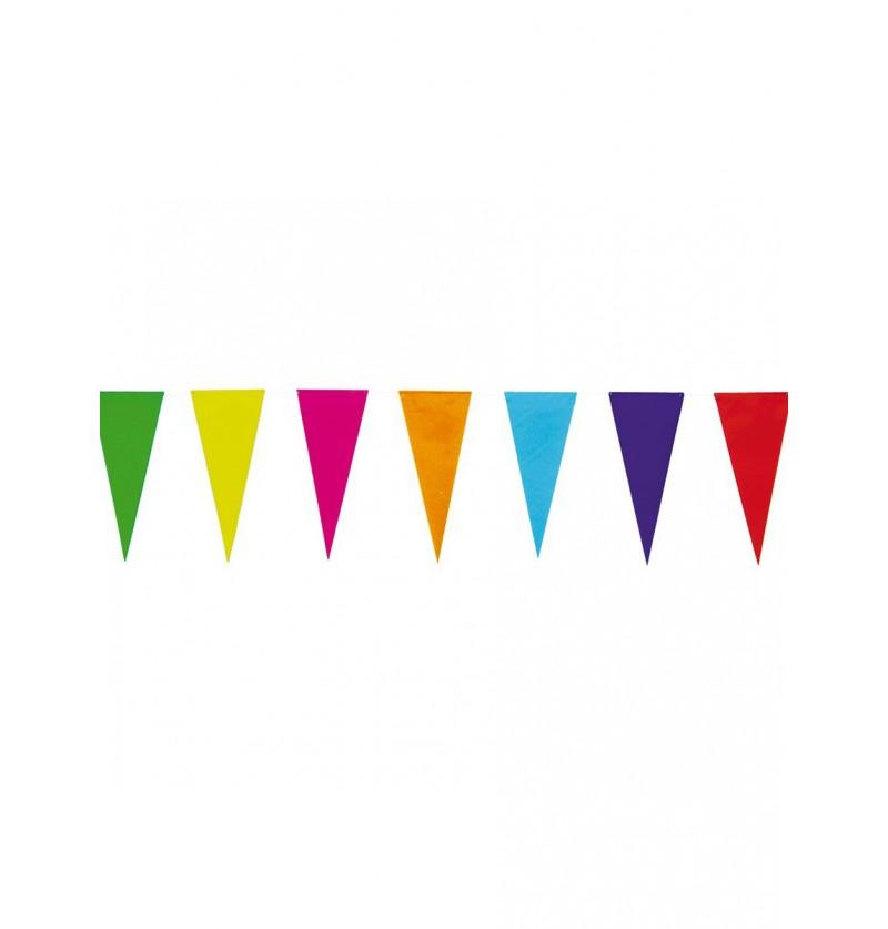 Guirnalda de banderines coloridos