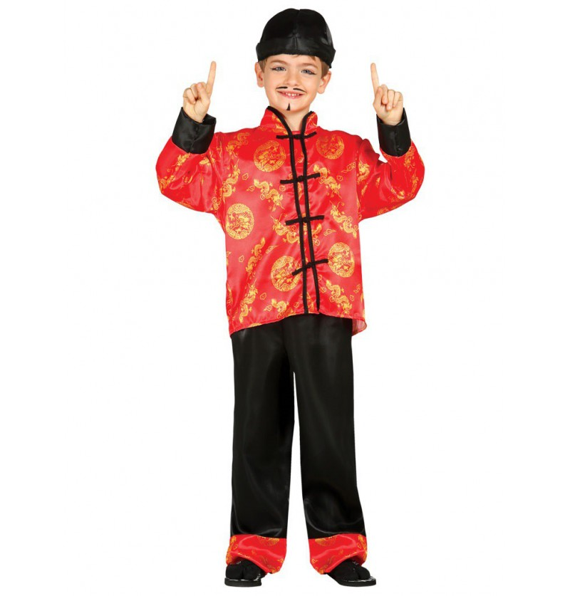 Disfraz de chino mandarín para niño