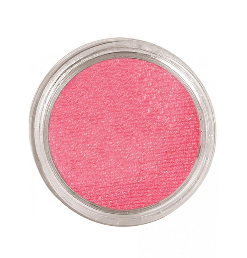 Maquillaje al agua color rosa