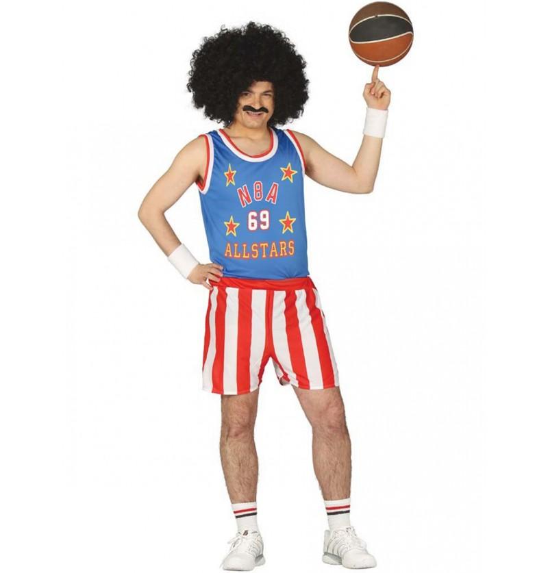 Disfraz de jugador de baloncesto USA para hombre