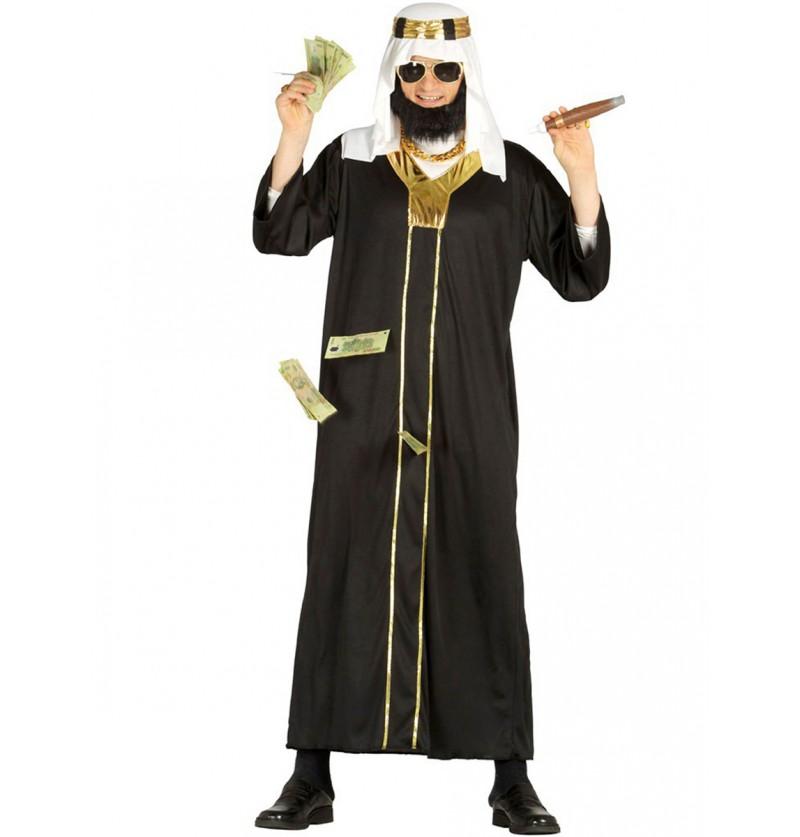 Disfraz de Jeque petro-dolar para hombre