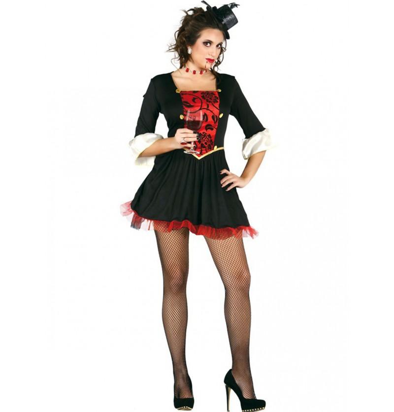 Disfraz de Vampiresa Condesa Sexy para mujer