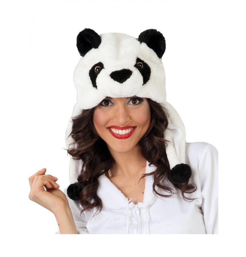 Gorro de Oso Panda