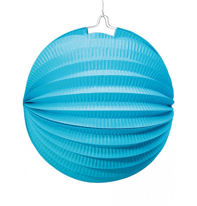 Farol Esférico de 20 cm. Azul