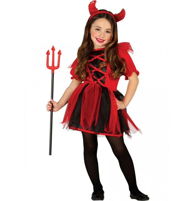 Disfraz de Diablesa Traviesa para niña