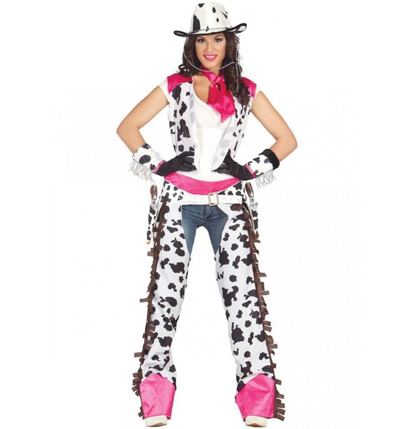 Disfraz de Cow Girl Rodeo para mujer