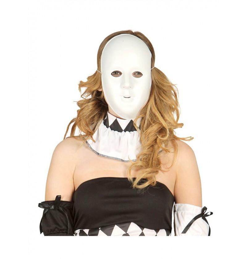 Máscara Blanca para Decorar