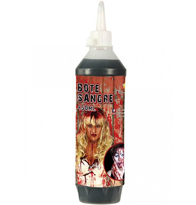 Bote de sangre falsa 450 ml.