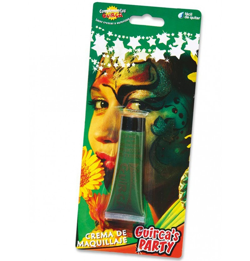 Tubo de Maquillaje Verde 20 cc.