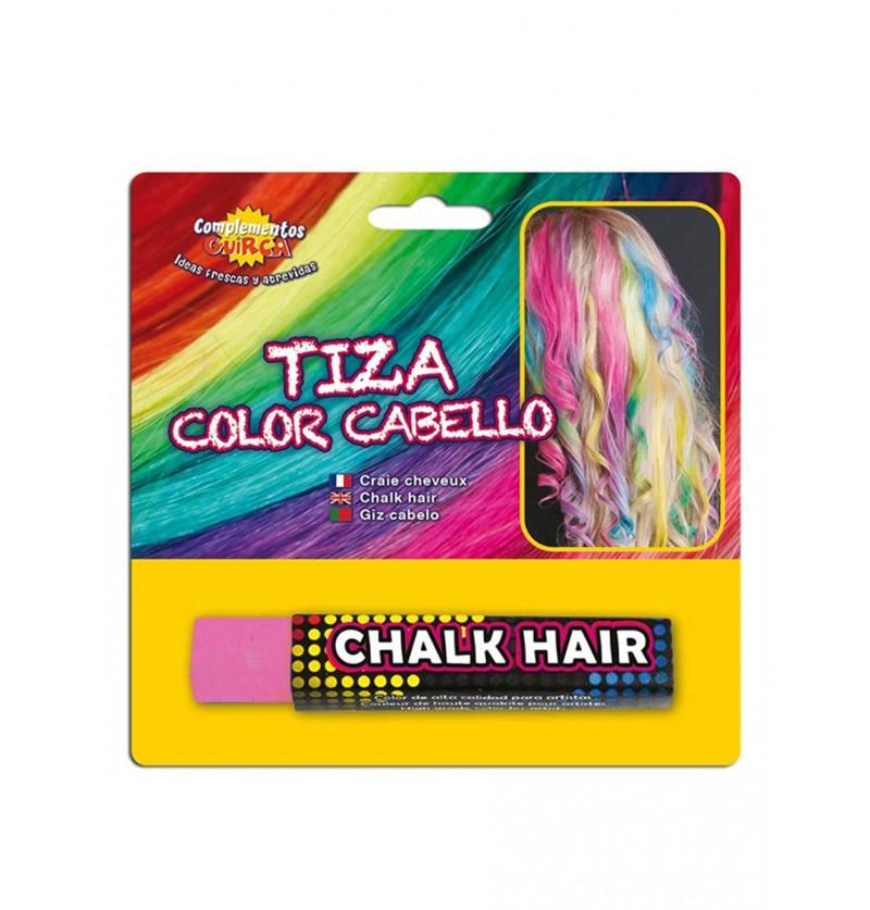 Tiza para colorear el pelo Rosa