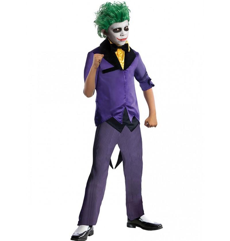 03cc0177343 Disfraz de Joker DC Comics para niño