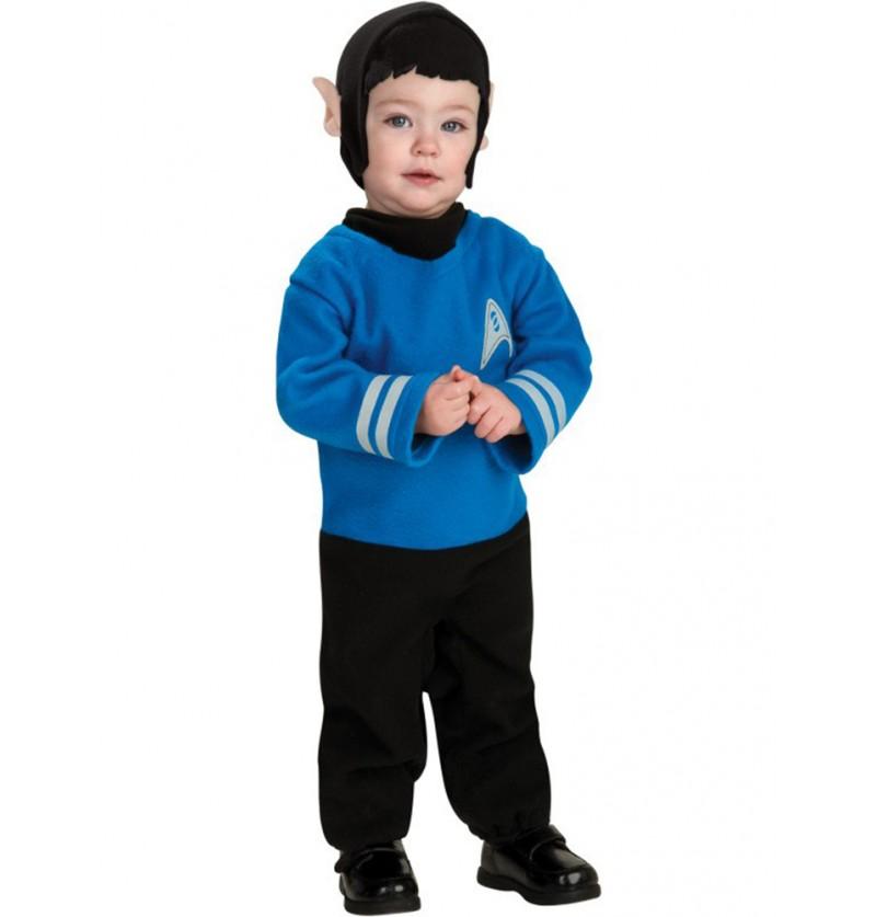 Disfraz de Spock Star Trek para bebé