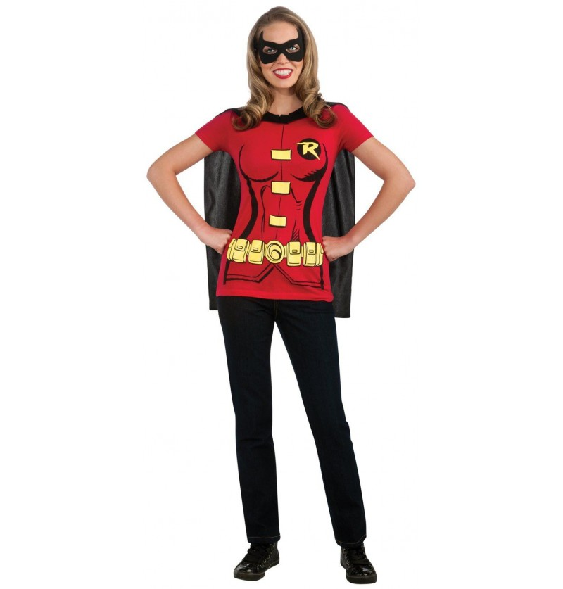 Kit disfraz Robin para mujer