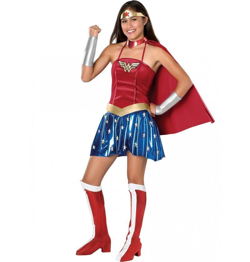 Disfraz de Wonder Woman para adolescente