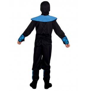 disfraz de ninja azul para nio