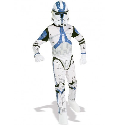 Disfraz de Clone Trooper Legión 501 Star Wars para adulto
