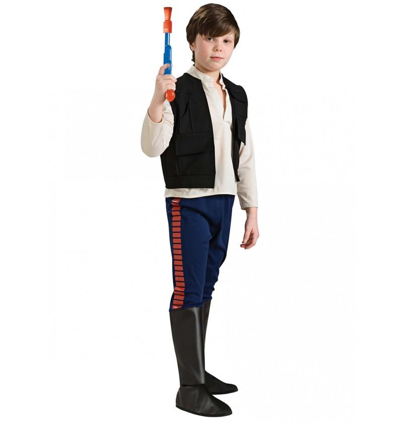 Disfraz de Han Solo deluxe para niño