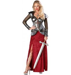 disfraz de juana de arco guerrera para mujer