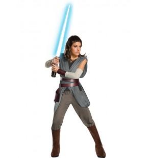 Disfraz de Rey Star Wars The Last Jedi super deluxe para mujer