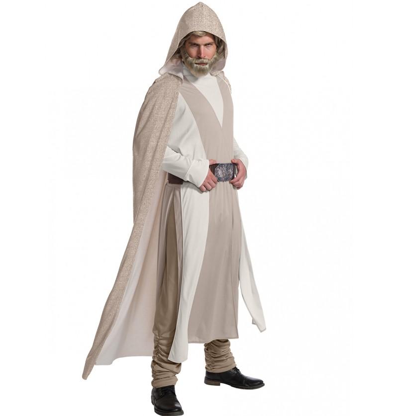 Disfraz de Luke Skywalker Star Wars The Last Jedi deluxe para hombre