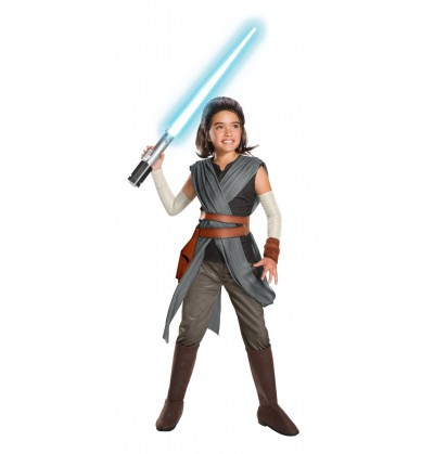 Disfraz de Rey Star Wars The Last Jedi super deluxe para niña