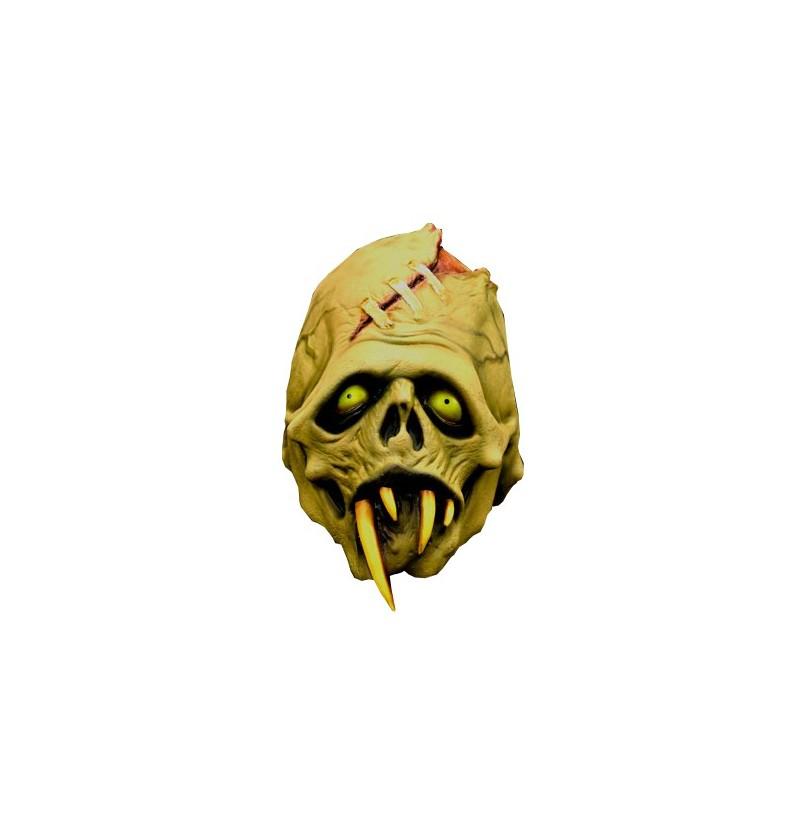 Máscara de Colmillo del terror Verde