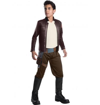 Disfraz de Poe Dameron Star Wars The Last Jedi deluxe para niño