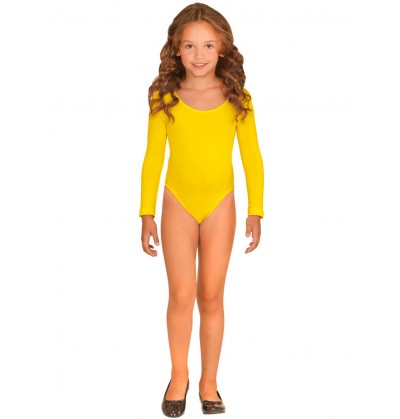 body amarillo para nia
