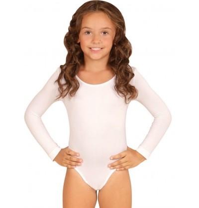 body blanco para nia