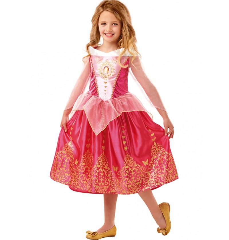 Disfraz de La Bella durmiente classic deluxe para niña