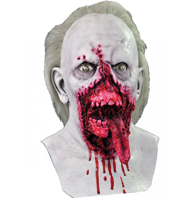 Máscara del Zombie Dr. Tongue Day of the Dead