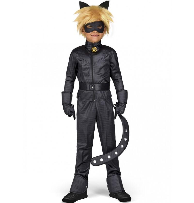 Disfraz de Cat Noir Las Aventuras de Ladybug infantil