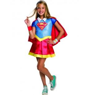 disfraz de supergirl deluxe para nia