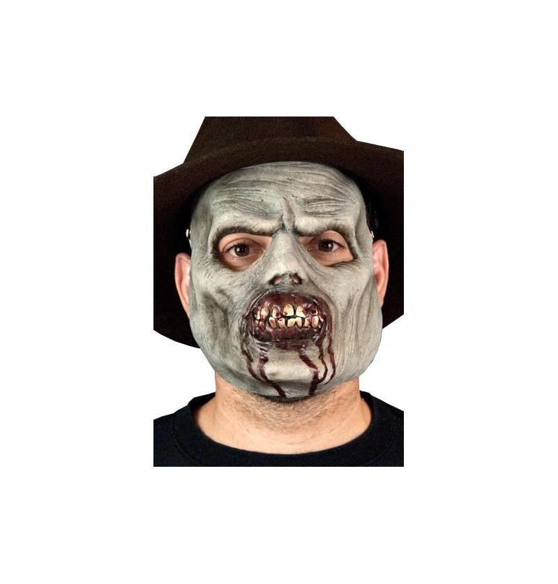 Máscara de Zombie mordiscos asesinos