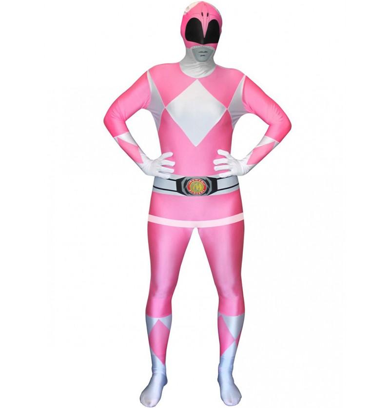 Disfraz de Power Ranger Rosa Morphsuit