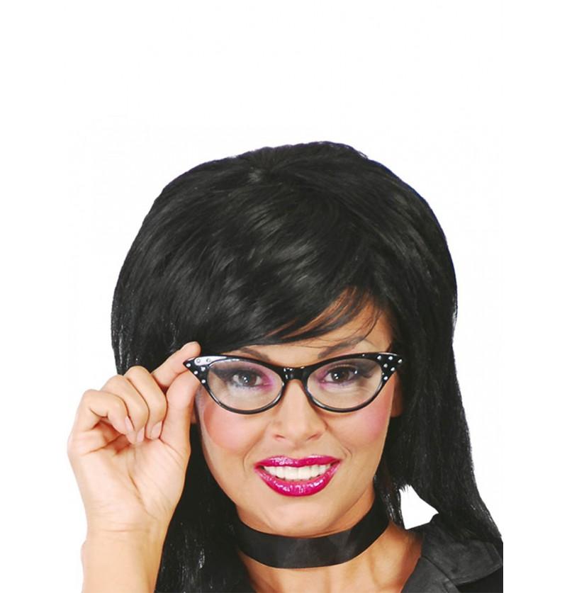 Gafas de los 60 negras