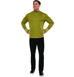 disfraz de capitn kirk star trek para hombre