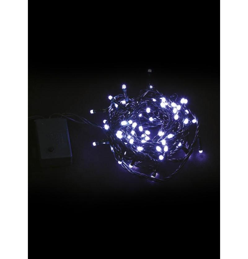 guirnalda navidea con luces blancas multifuncin