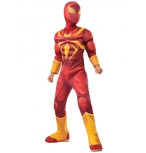 disfraz de iron spider deluxe para nio