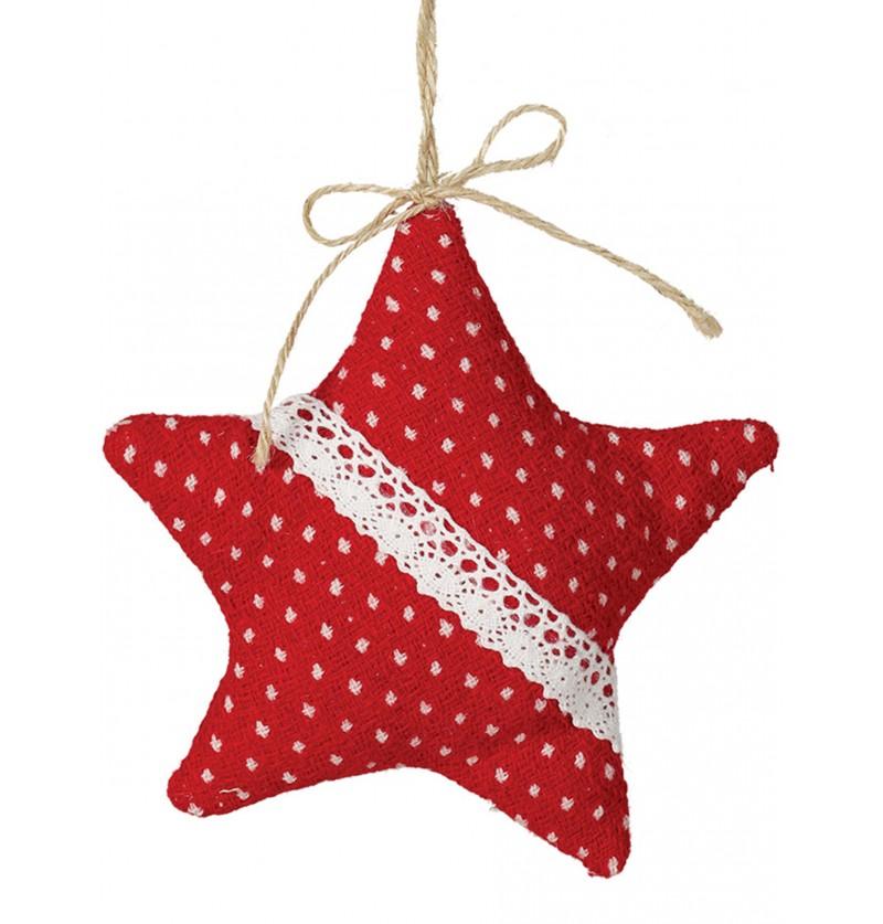 estrella navidea roja grande para el rbol