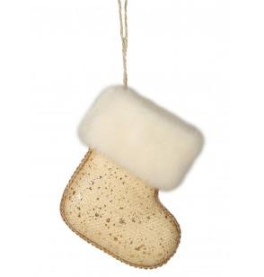 bota navidea dorada para el rbol
