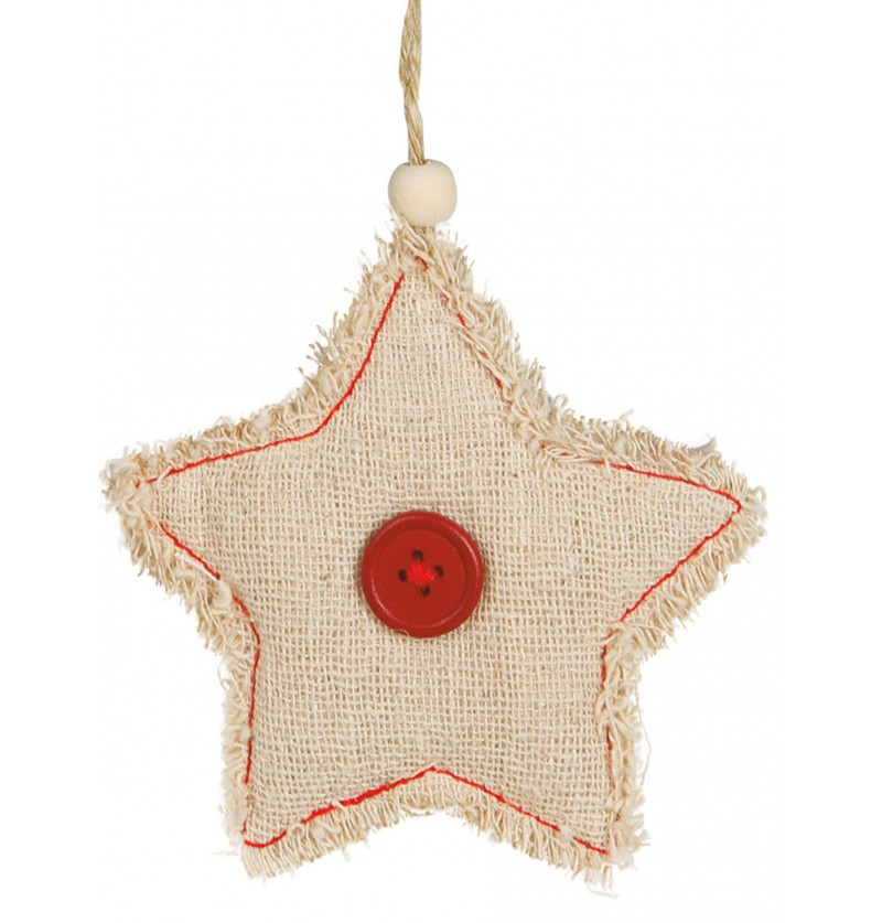 estrella navidea rstica para el rbol