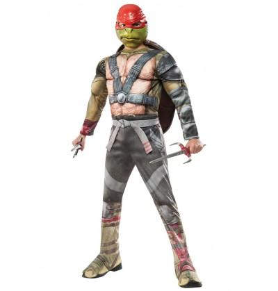 disfraz de raphael tortugas ninja 2 deluxe para nio