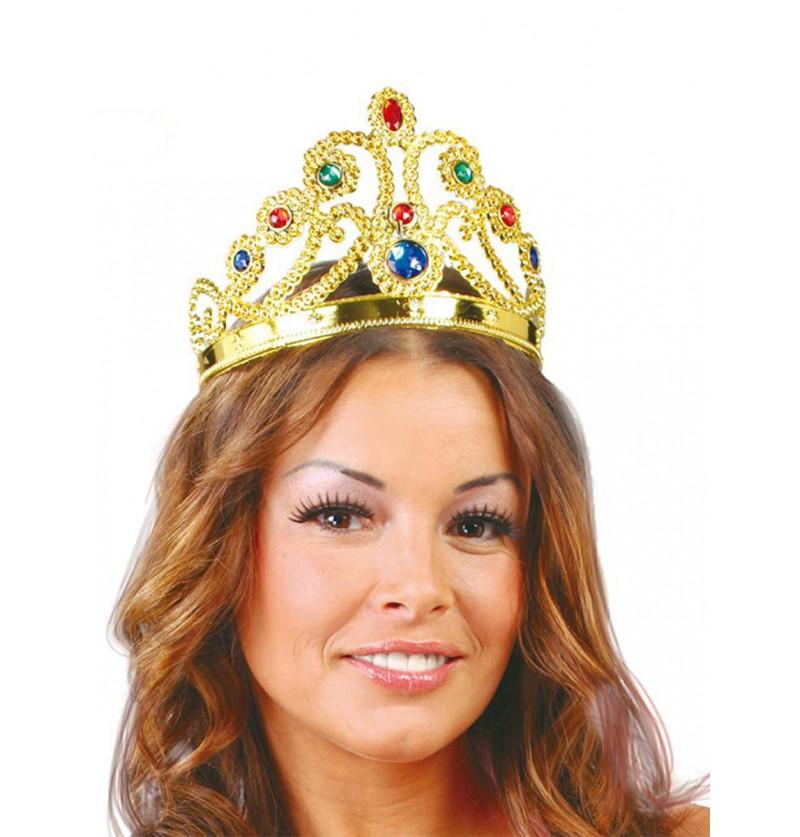 Corona de reina de oro