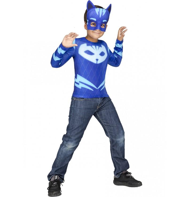 Kit disfraz de Gatuno PJ Masks en caja para niño