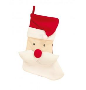 calcetn decorativo de pap noel
