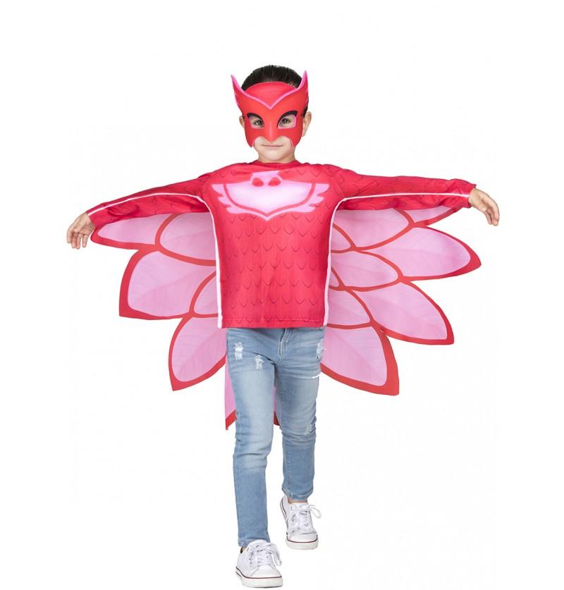 Kit disfraz de Buhita PJ Masks en caja infantil